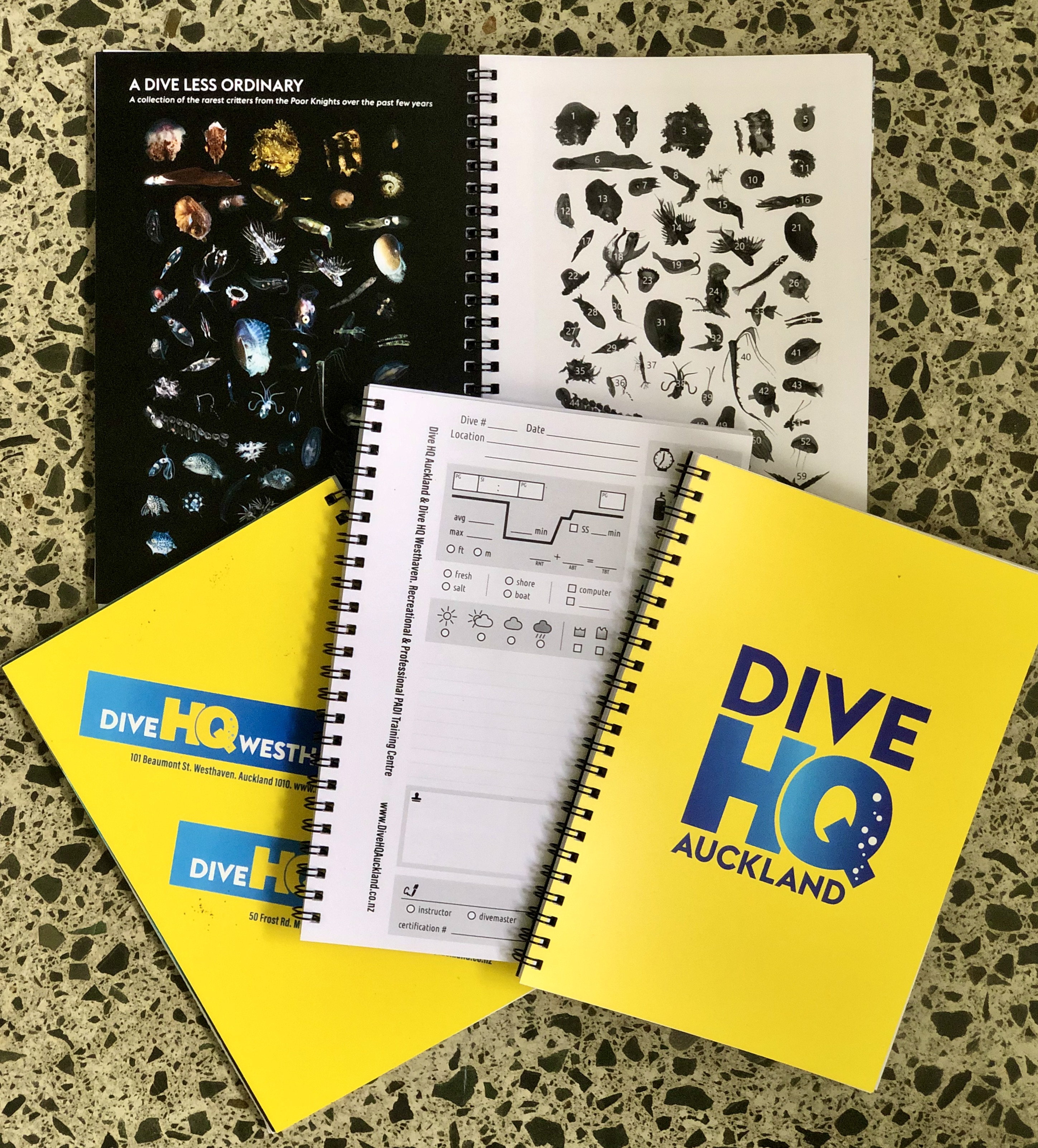 Dive Log Book